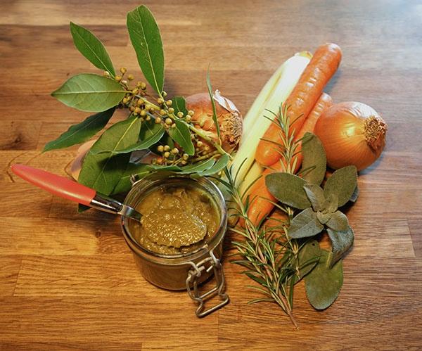 dado vegetale in casa